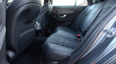 Mercedes C-Class - rear seats