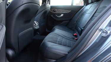 Mercedes C-Class - rear seats