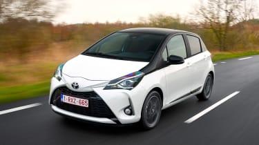 Toyota Yaris - front