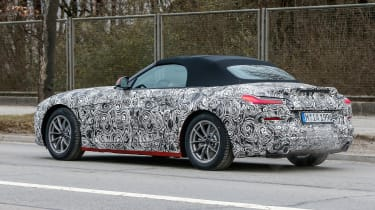 New BMW Z4 action