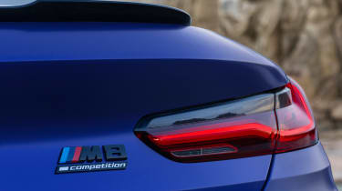 BMW M8 Competition - rear light