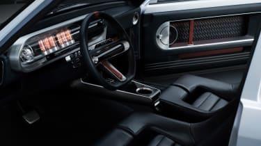 Hyundai Pony - interior