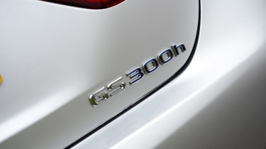 Lexus GS 300h Luxury badge
