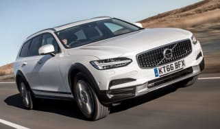 Volvo V90 Cross Country 2017 UK - front tracking