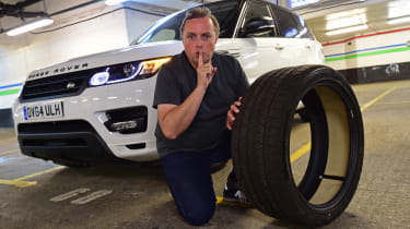 Range Rover Sport Long-term - tyre