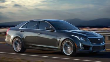 Cadillac CTS-V side