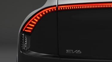 Kia EV6 - rear light teaser