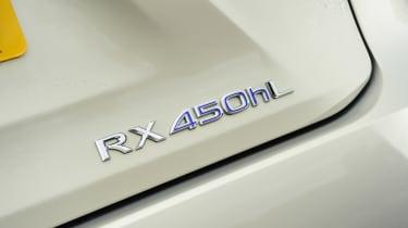 Lexus RX - badge