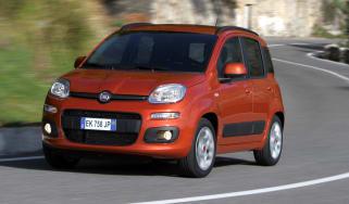 Fiat Panda front cornering
