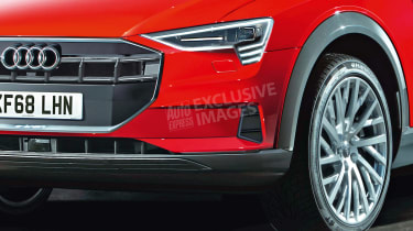 Audi e-tron - front detail (watermarked)