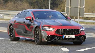 Mercedes-AMG GT 4 Door PHEV - front