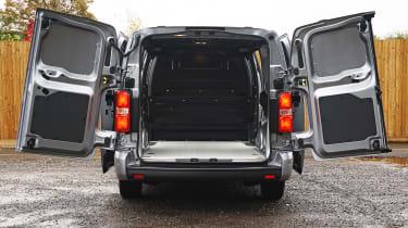 Vauxhall Vivaro-e - loading bay