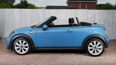 Used MINI Roadster - side