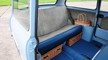 Mercedes V-Class UK drive - boot