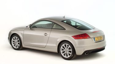 Used Audi TT - rear