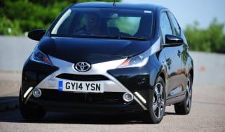Toyota Aygo front cornering