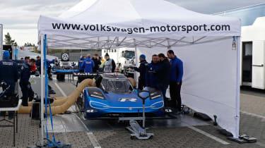 Volkswagen ID. R - Nurburgring pit