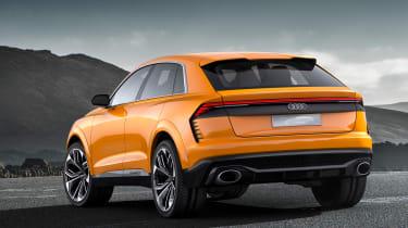 Audi Q8 Sport Concept - rear quarter