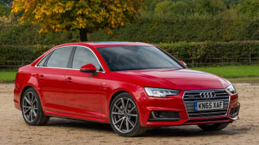 Audi A4 S Line - front static