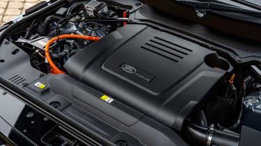 Range Rover PHEV - engine