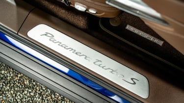 Porsche Panamera - rear seats