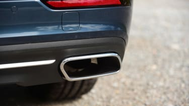 Volvo V60 - exhaust