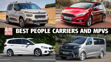 Best people carriers and MPVs header