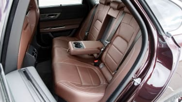 Jaguar XF Portfolio - rear seats