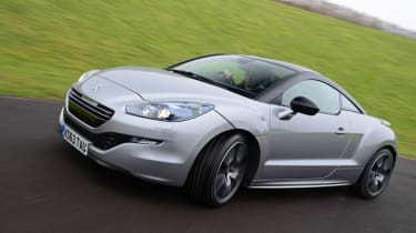 Peugeot RCZ R action