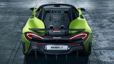 McLaren 600LT Spider - full rear