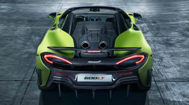 McLaren 600LT Spider - full rear