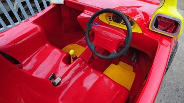 Cosy Coupe replica interior 2