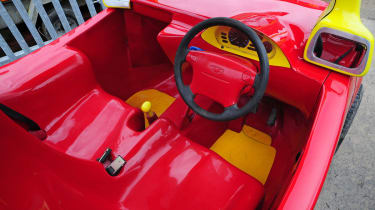 Cosy Coupe replica interior 2
