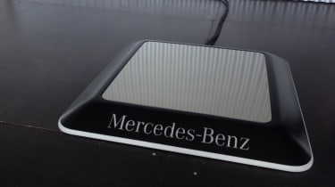 Mercedes wireless charging