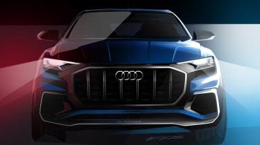 Audi Q8 - front teaser