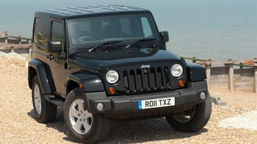 Used Jeep Wrangler - front static