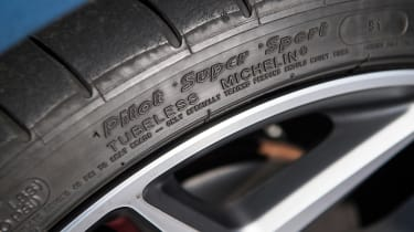 Ford Fiesta ST - tyre