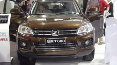 """<span size=""""2"""" style=""""font-size: small;""""><span face=""""Tahoma, Verdana, Helvetica, Arial"""" style=""""font-family: Tahoma, Verdana, Helvetica, Arial;""""><span>While Volkswagen was presenting the facelifted Touareg in Beijing, Zotye was busy cop"""
