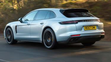 Porsche Panamera Sport Turismo rear tracking