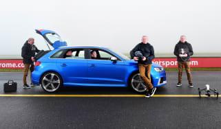 Audi RS 3 - versatile