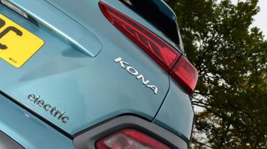 Hyundai Kona Electric - Kona badge