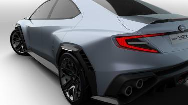 Subaru VIZIV concept - rear