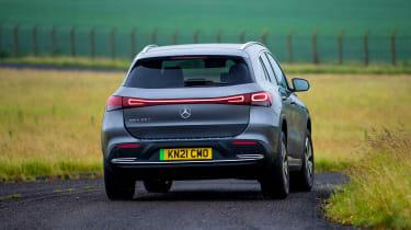 Mercedes EQA - rear
