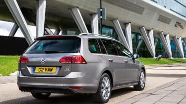VW Golf Estate rear