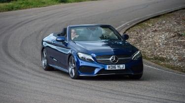 Mercedes SLC - front cornering