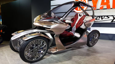 Yamaha MWC-4 front side