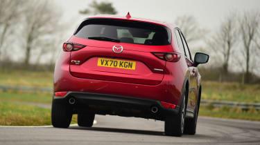 Mazda CX-5 - rear cornering