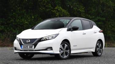 Nissan Leaf front static