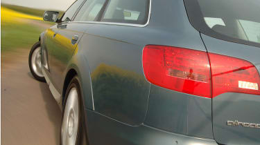 Allroad's chunky looks complemented by the superb handling.