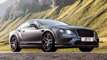 Bentley Continental Supersports 2017 - official front quarter